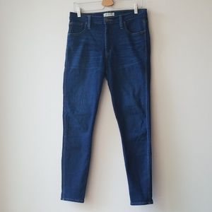 "Madewell Sz 29 Skinny 10"" Jeans Hayes High Riser"